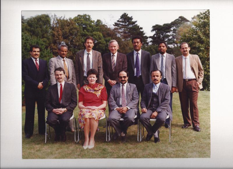 IMF Coference in Dublin, Ireland 1990